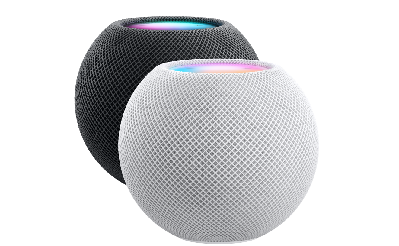 Two HomePod minis